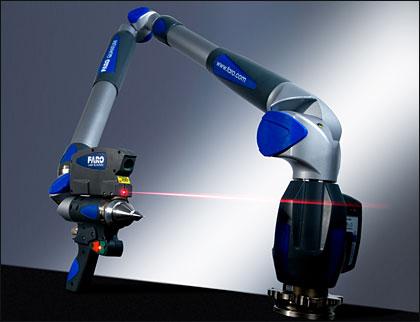 扫描式关节臂测量机/便携式三维激光扫描测量臂